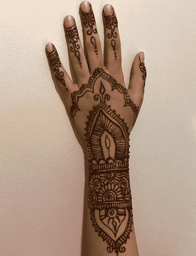 Gorgeous Nainital Henna Design