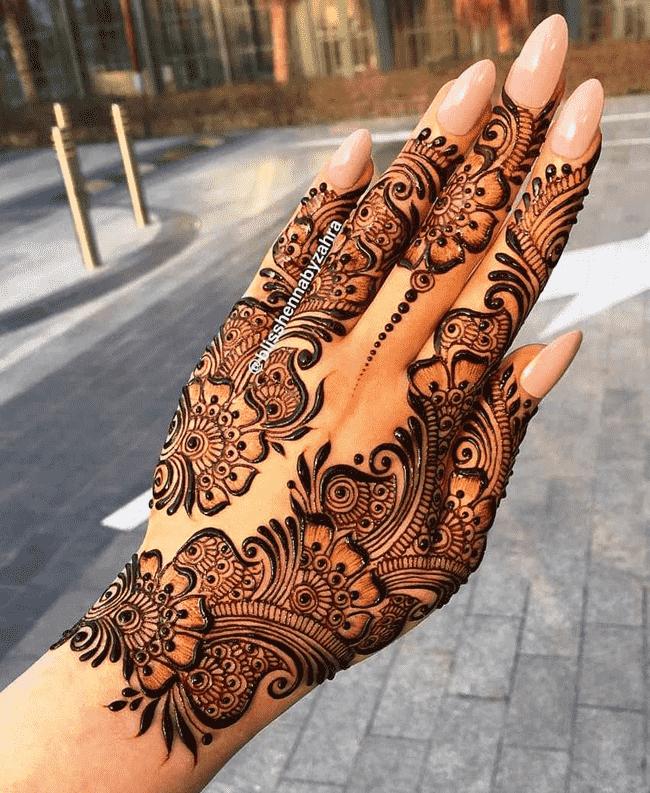 Awesome Nainital Henna Design