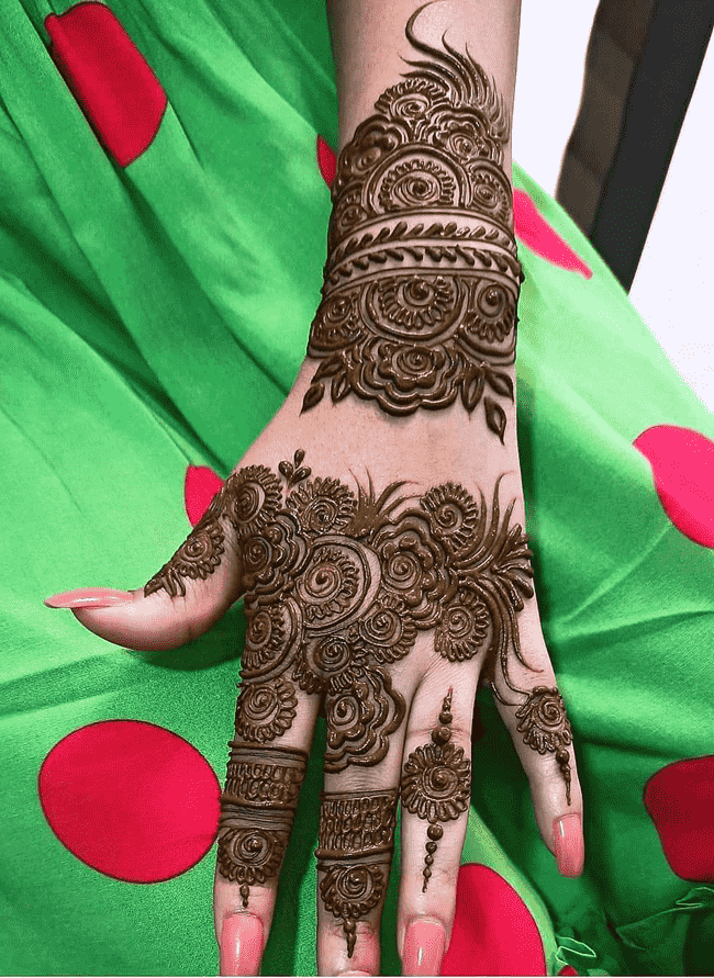 Ideal Nainital Henna Design