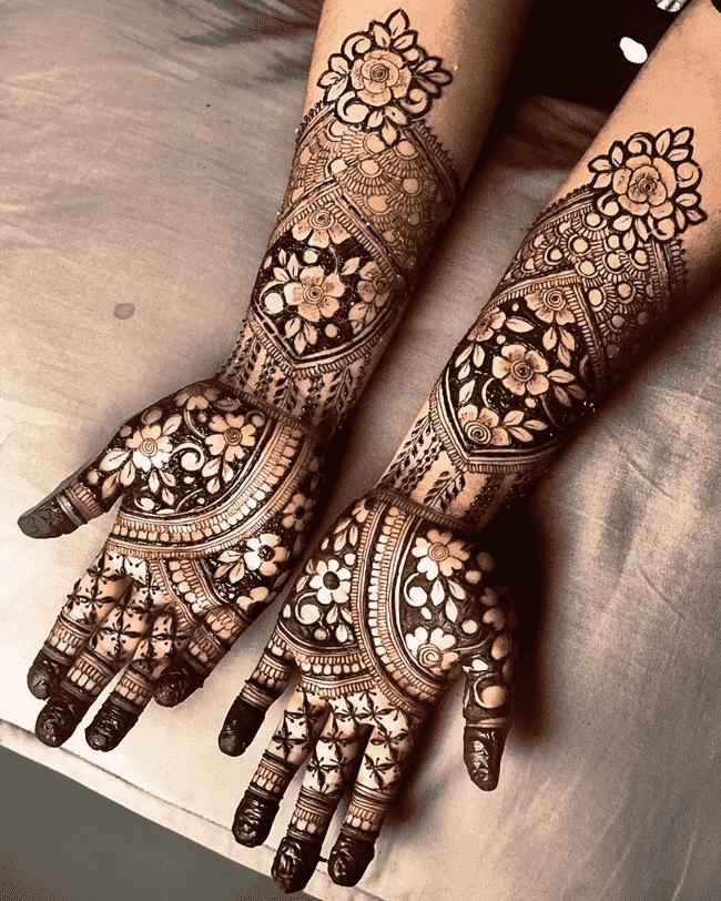 Magnetic Nainital Henna Design