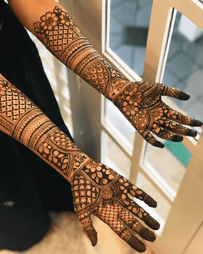 Magnificent Nainital Henna Design