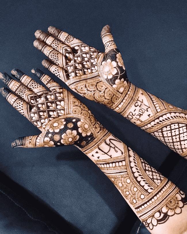 Marvelous Nainital Henna Design