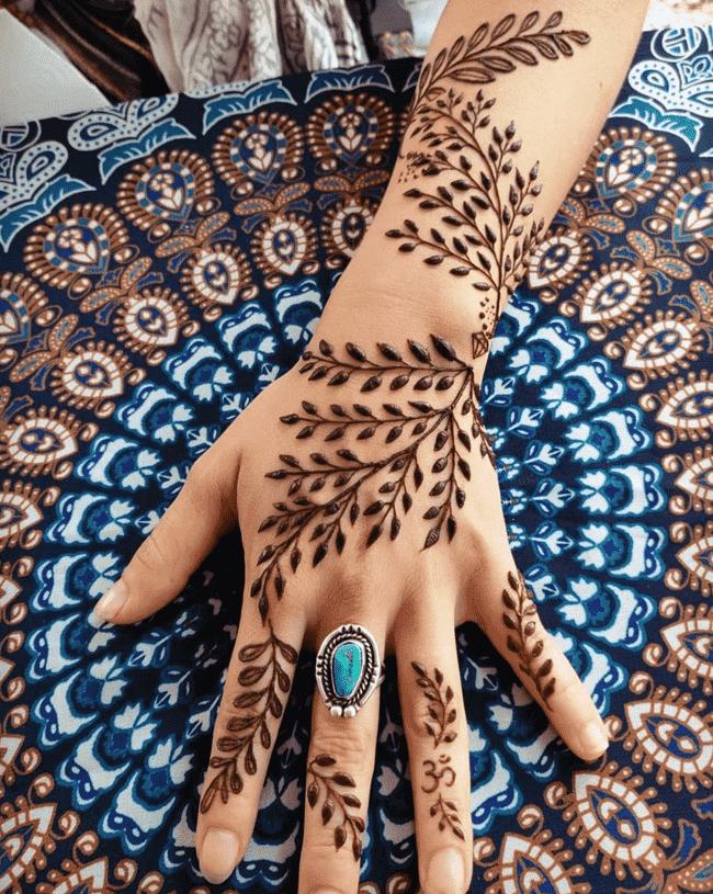 Mesmeric Nainital Henna Design