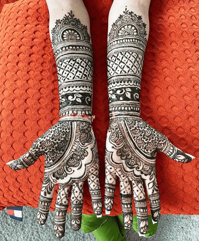 Resplendent Nainital Henna Design