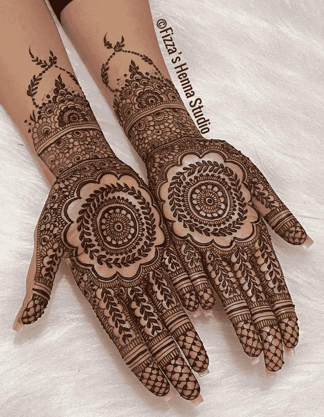 Slightly Nainital Henna Design