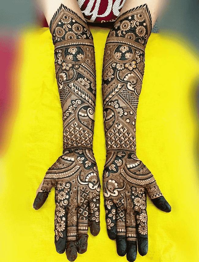 Splendid Nainital Henna Design