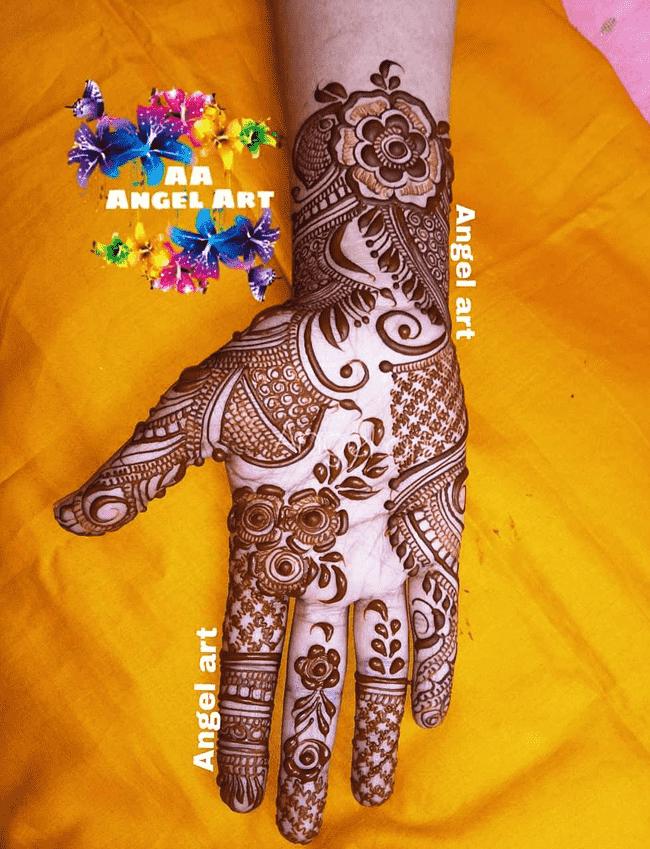 Stunning Nainital Henna Design