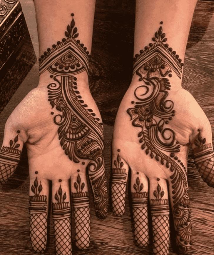 Adorable Nasik Henna Design