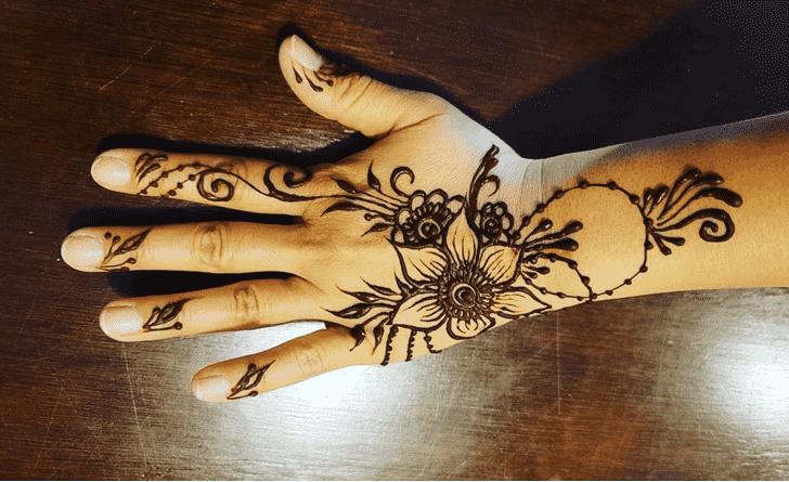 Beauteous Nasik Henna Design
