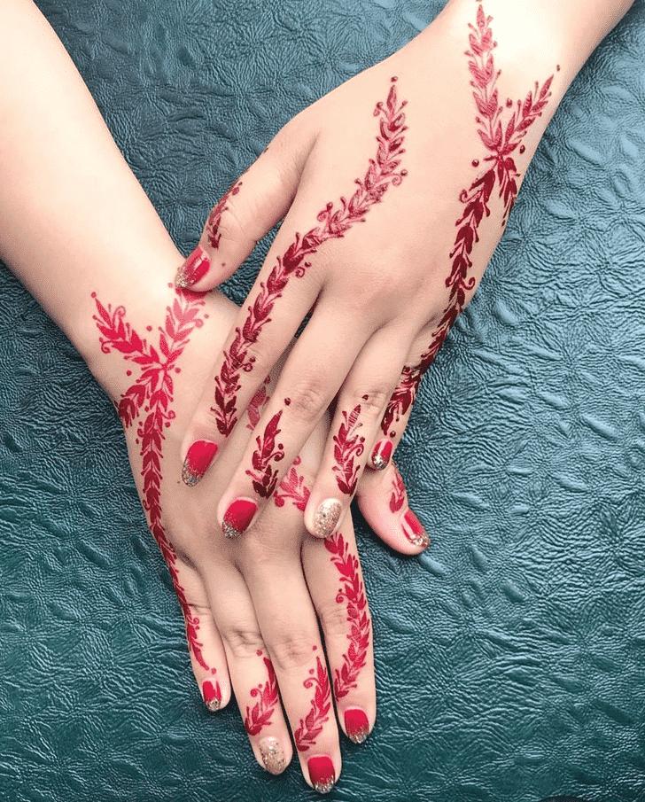 Charming Nasik Henna Design