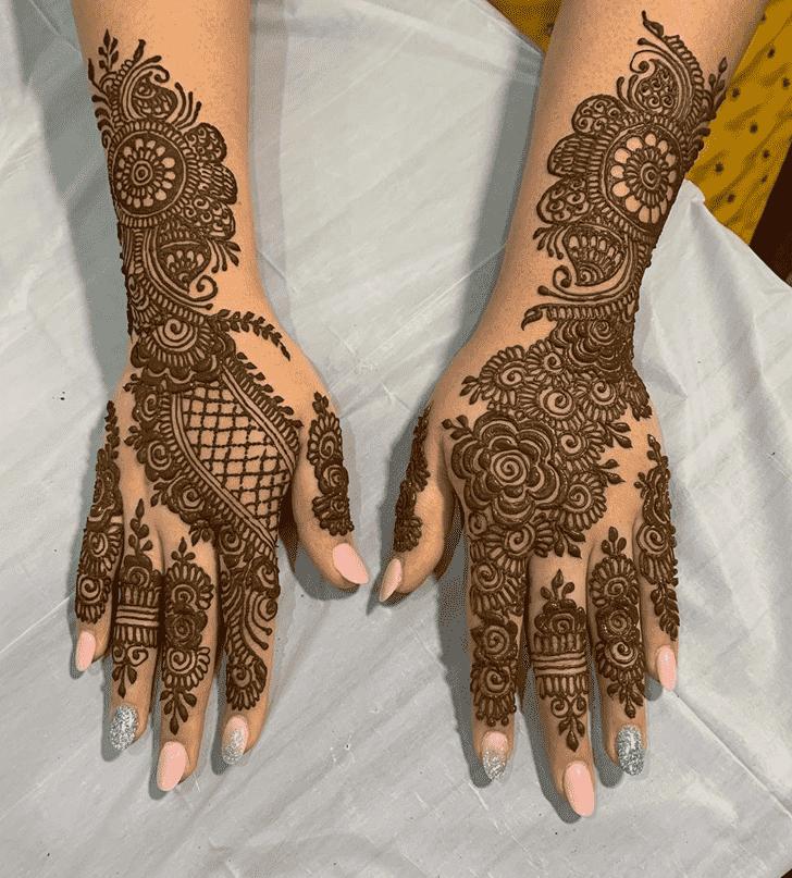 Excellent Nasik Henna Design