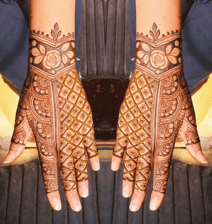 Fine Nasik Henna Design