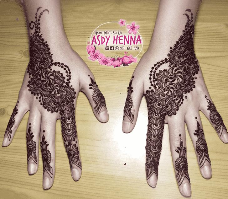 Gorgeous Nasik Henna Design