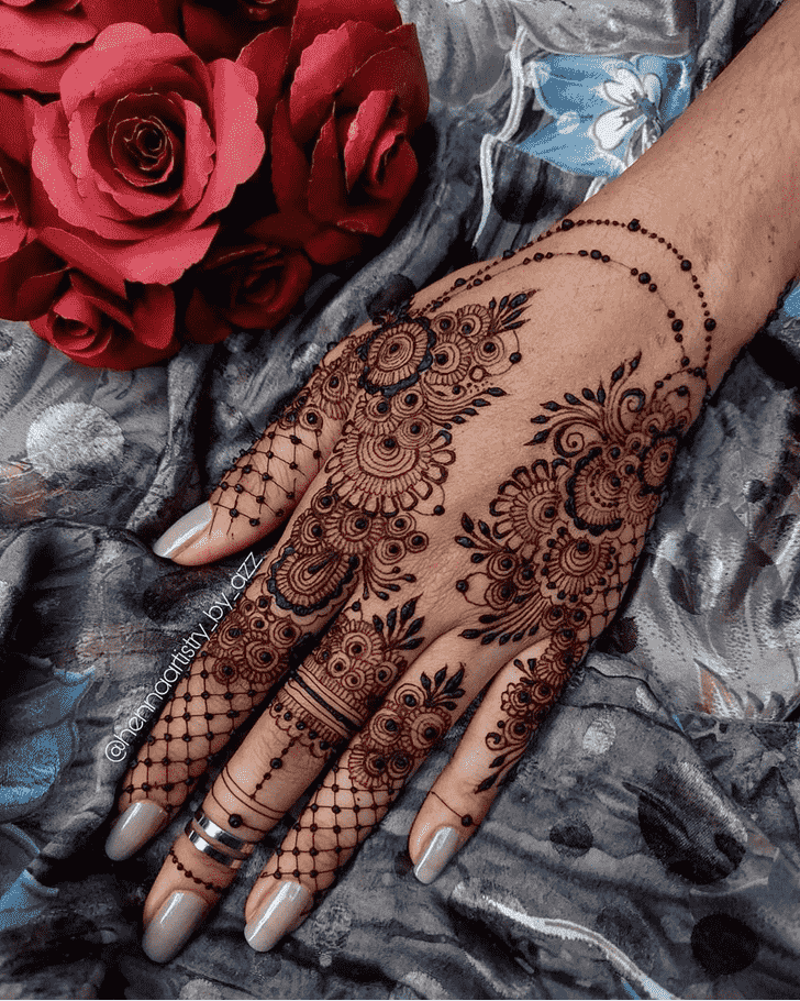 Alluring Noida Henna Design