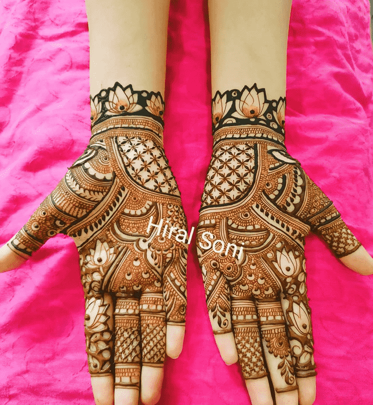 Elegant Noida Henna Design