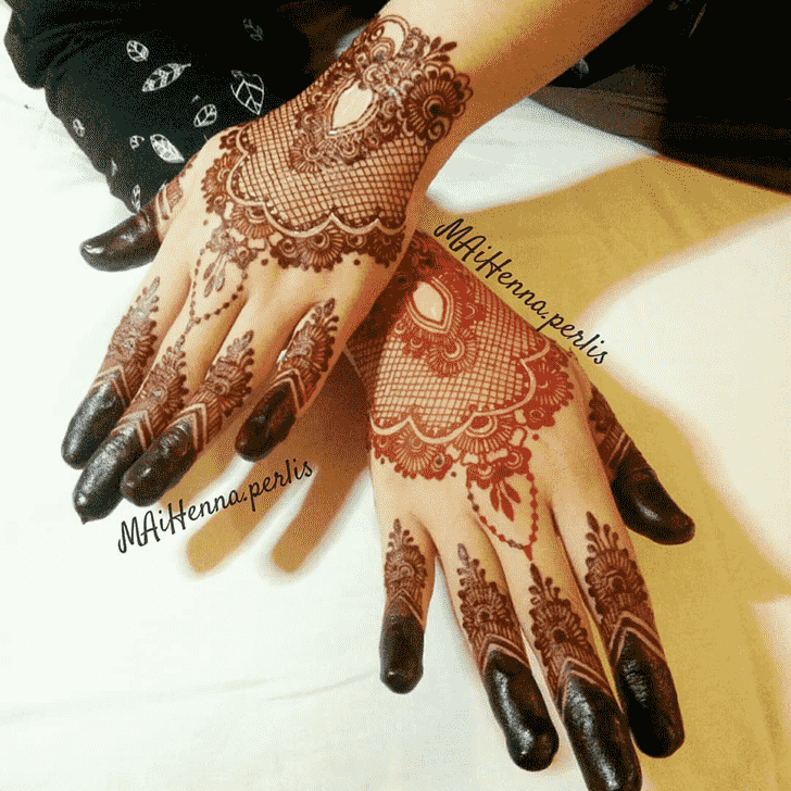 Enthralling Noida Henna Design