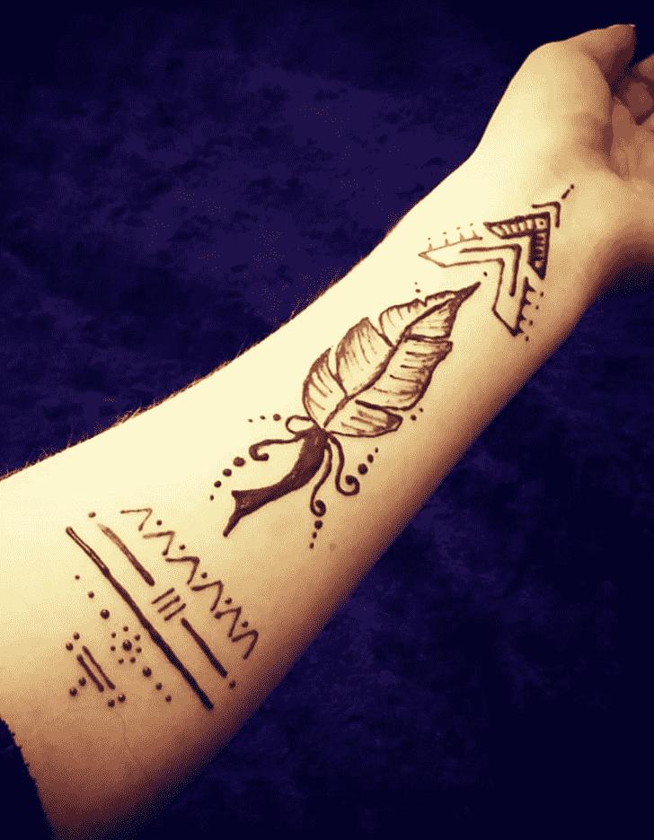 Enticing Noida Henna Design