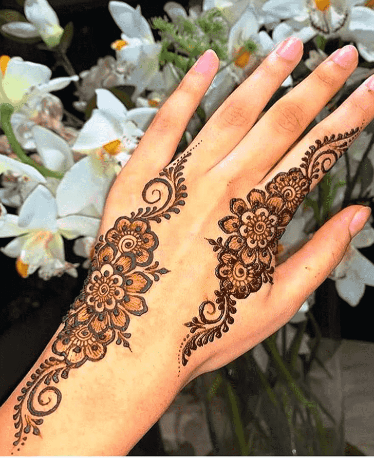 Appealing Oakland Henna Design
