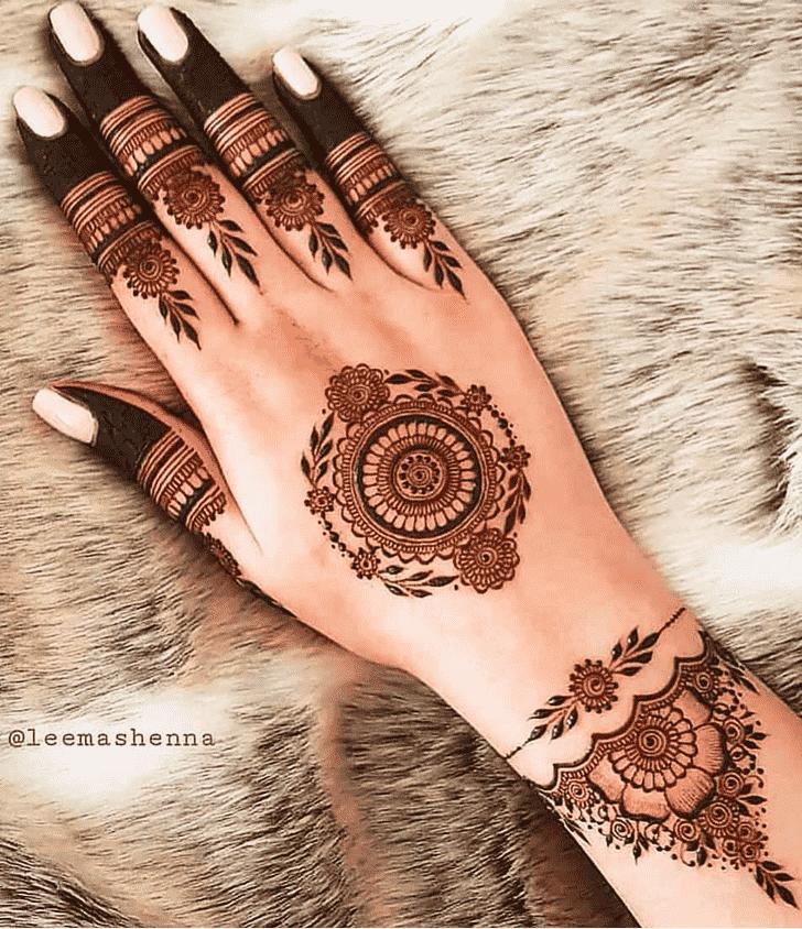 Captivating Oakland Henna Design