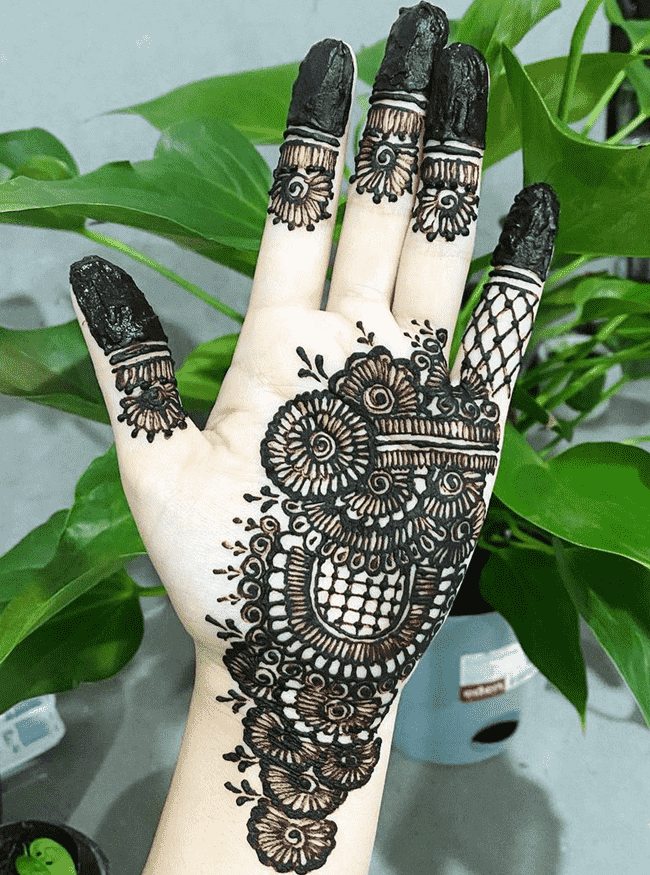 Angelic Ooty Henna Design