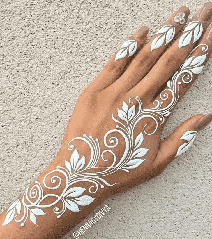 Adorable Pattern Henna Design