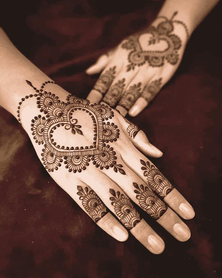 Captivating Pattern Henna Design