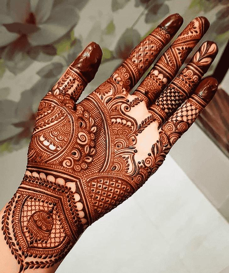 Delightful Pattern Henna Design