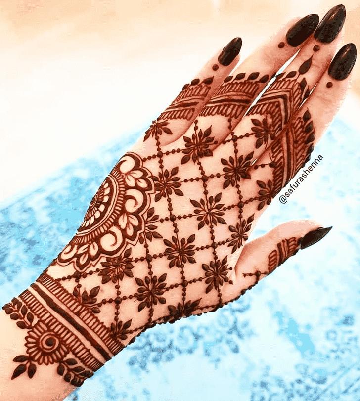 Excellent Pattern Henna Design