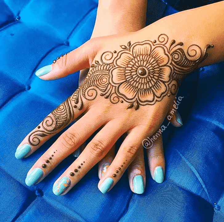 Awesome Pattern Henna Design