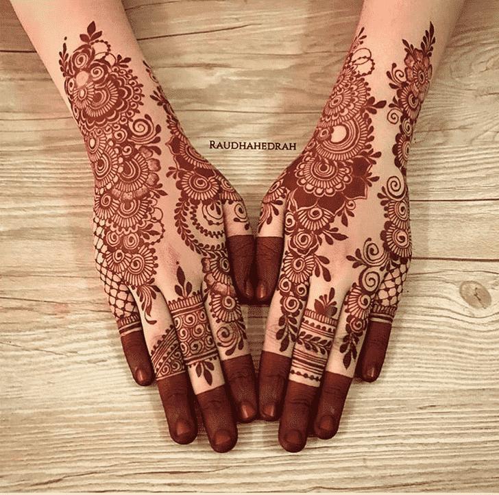 Ideal Pattern Henna Design