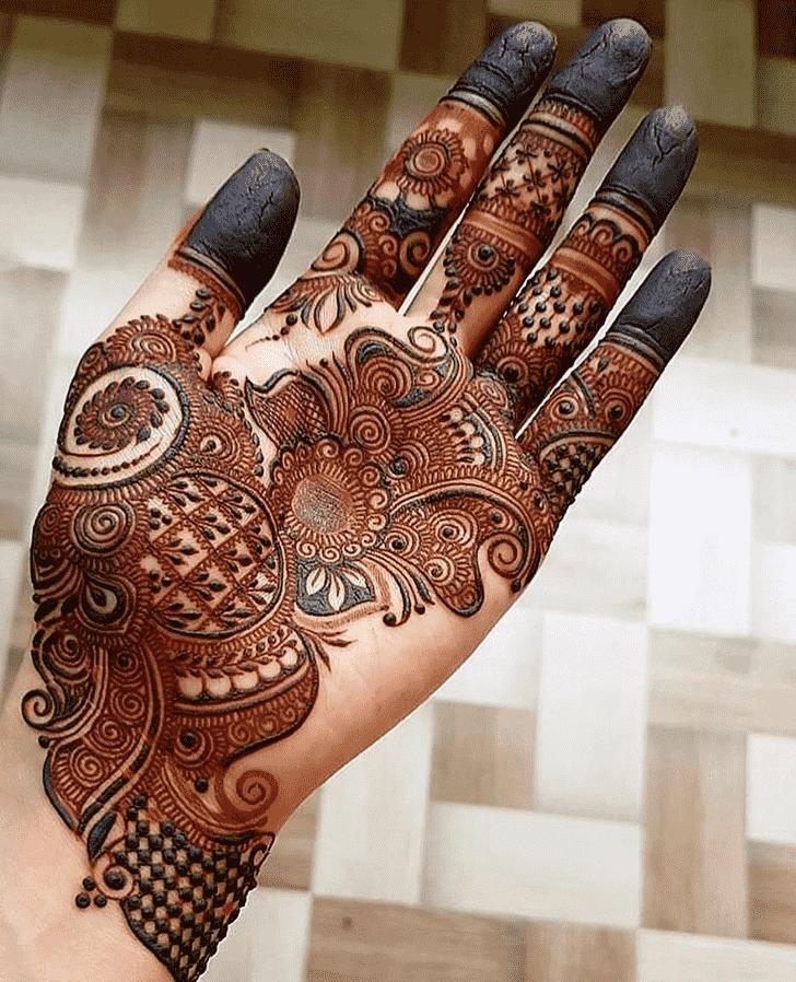 Lovely Pattern Mehndi Design