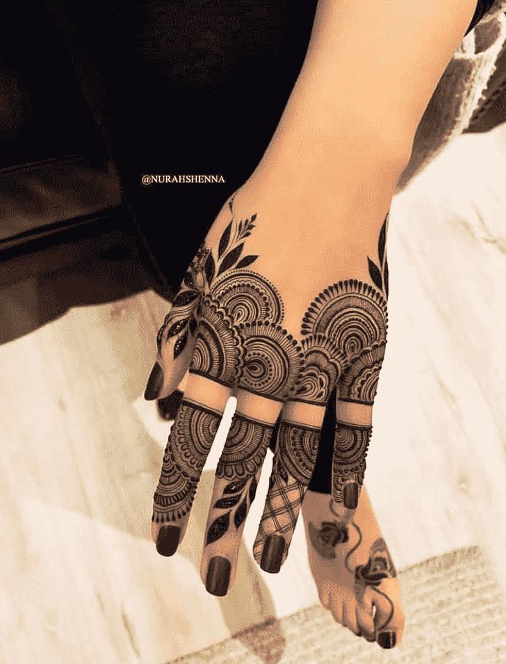 Pretty Pattern Henna Design