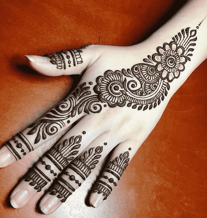 Ravishing Pattern Henna Design
