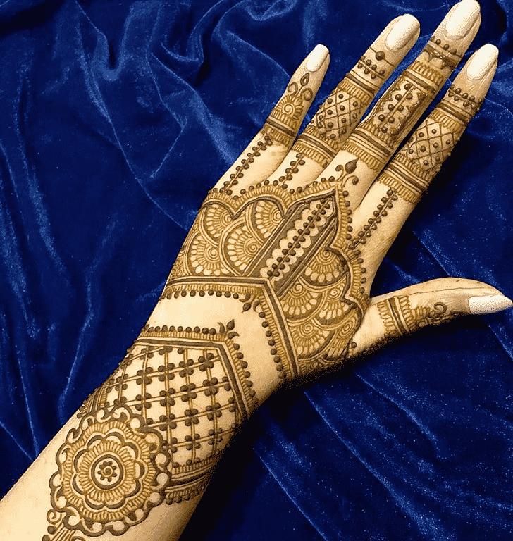 Slightly Pattern Henna Design