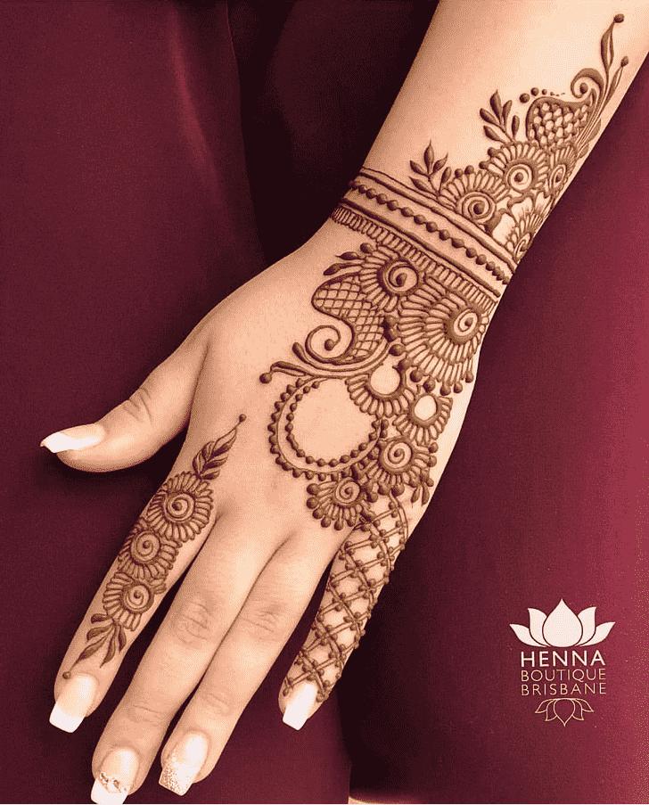 Wonderful Pattern Henna Design