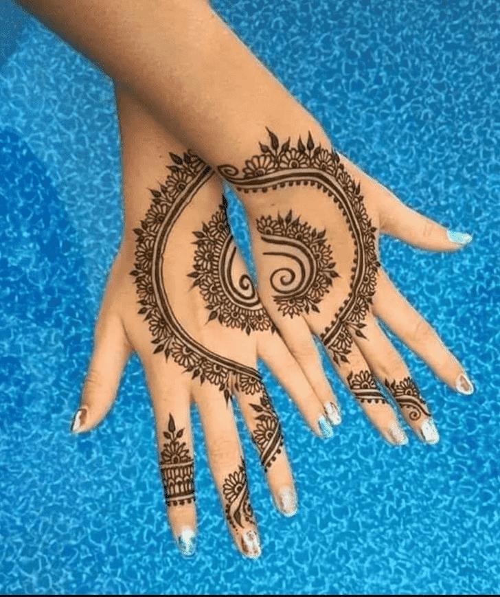 Adorable Pennsylvania Henna Design