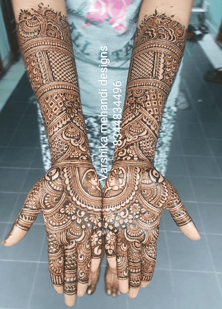 Angelic Pennsylvania Henna Design