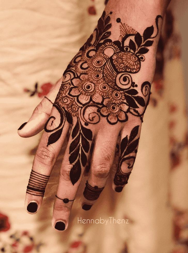 Bewitching Pennsylvania Henna Design