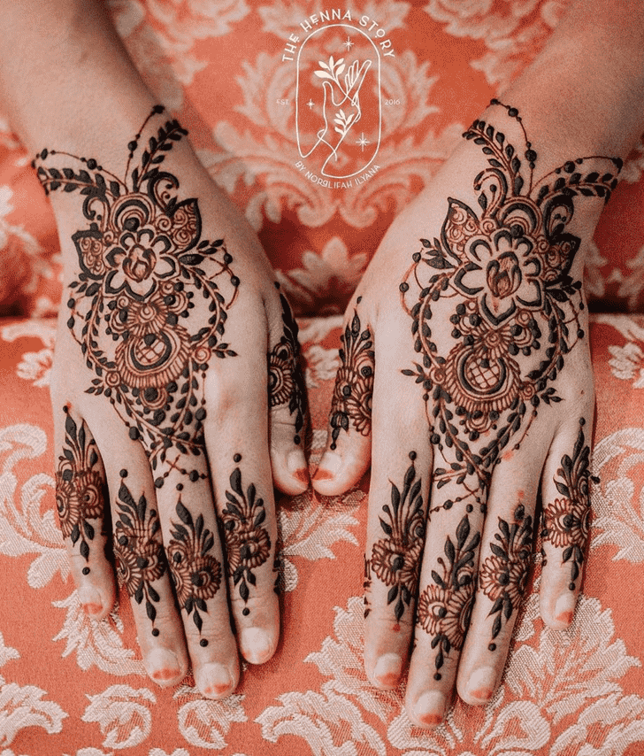 Captivating Pennsylvania Henna Design