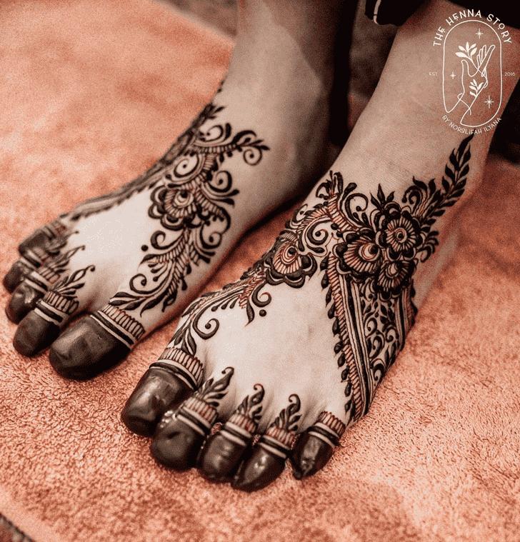 Comely Pennsylvania Henna Design