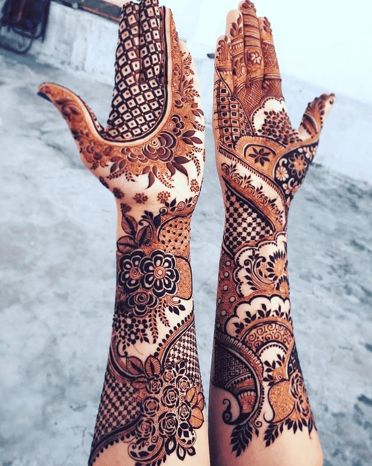 Arm Pennsylvania Henna Design