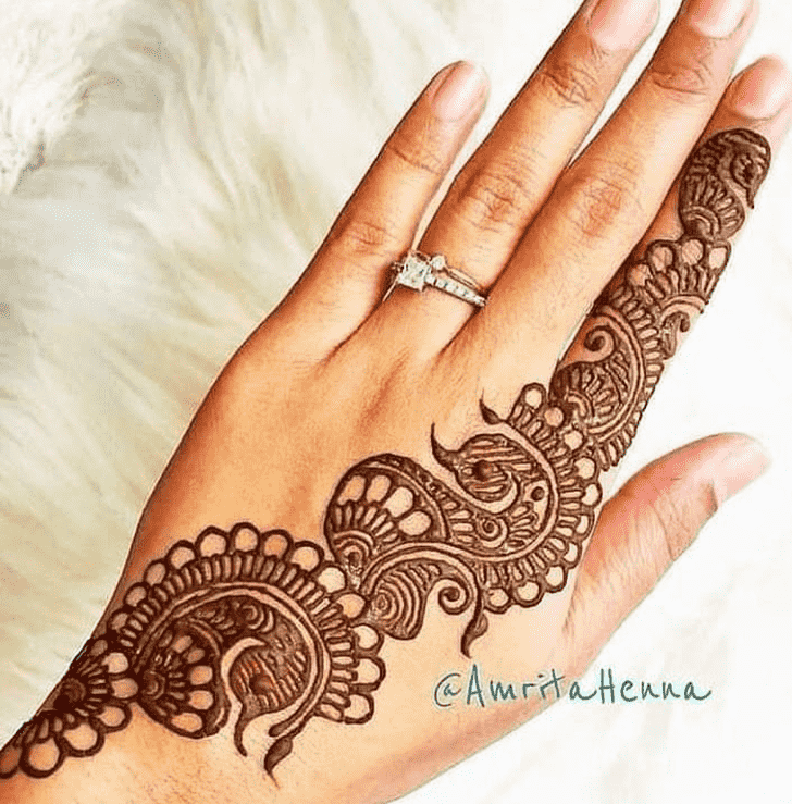 Dazzling Pennsylvania Henna Design