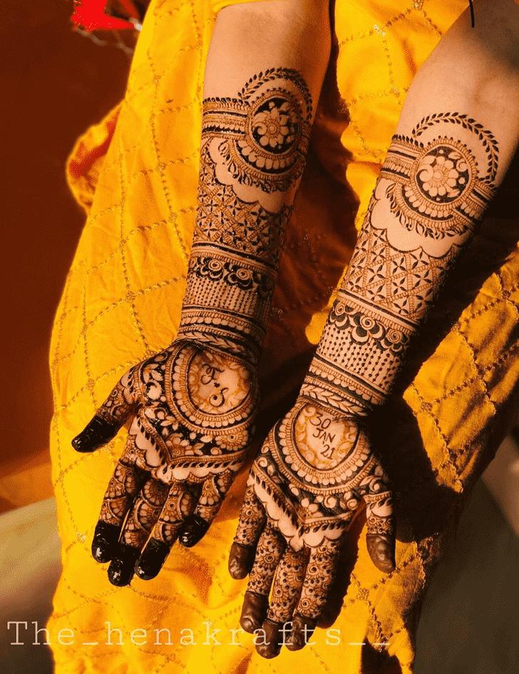 Delightful Pennsylvania Henna Design