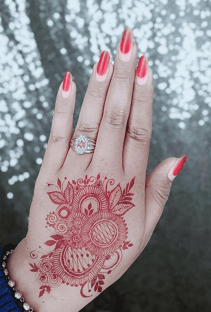 Elegant Pennsylvania Henna Design