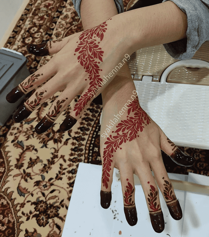 Enthralling Pennsylvania Henna Design
