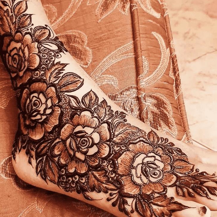 Fascinating Pennsylvania Henna Design