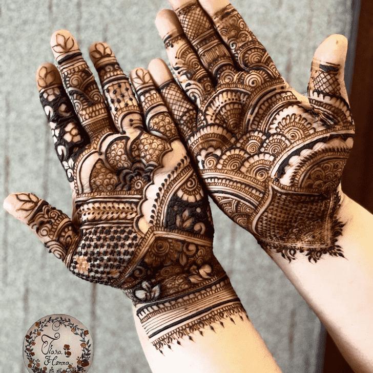 Fine Pennsylvania Henna Design