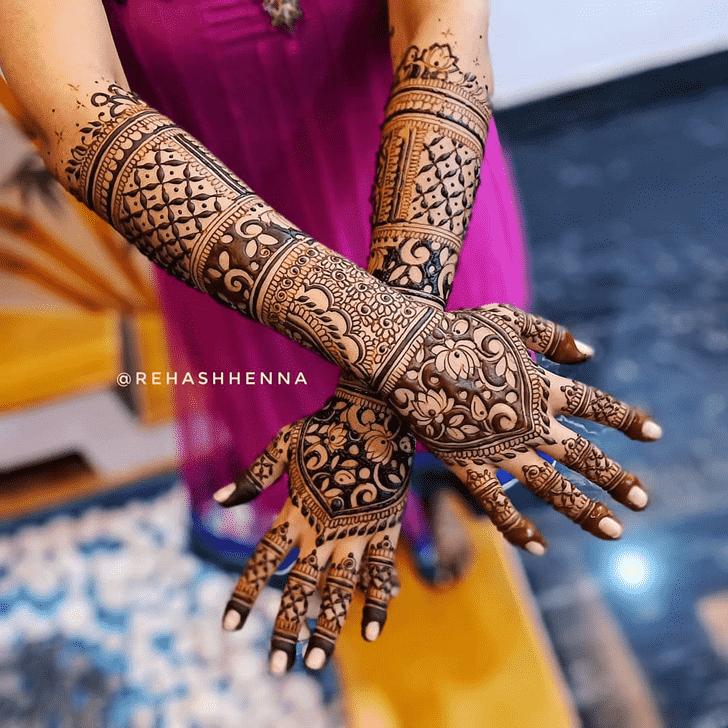 Good Looking Pennsylvania Henna Design