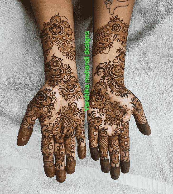 Graceful Pennsylvania Henna Design
