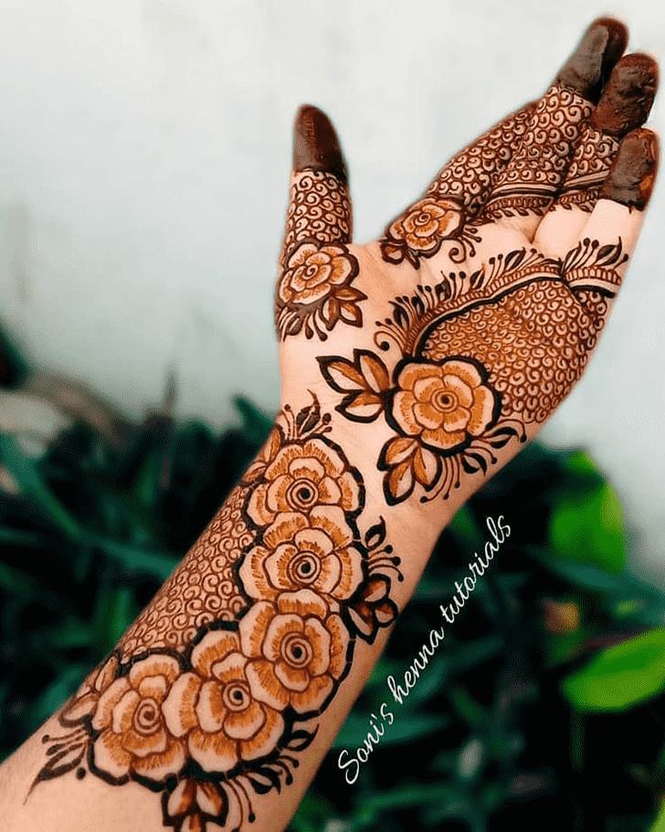 Grand Pennsylvania Henna Design